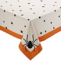 Black Stars Printed Tablecloth