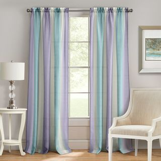 Spectrum Rod Pocket Window Curtain Panel