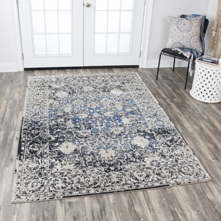 "Link to Rizzy Home Panache Taupe Motif Area Rug (3'3 x 5'3) - 3'3"" x 5'3"" Similar Items in Grills & Outdoor Cooking"