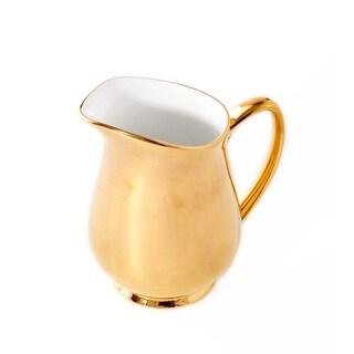 CRU by Darbie Angell Monaco 24kt Gold Creamer