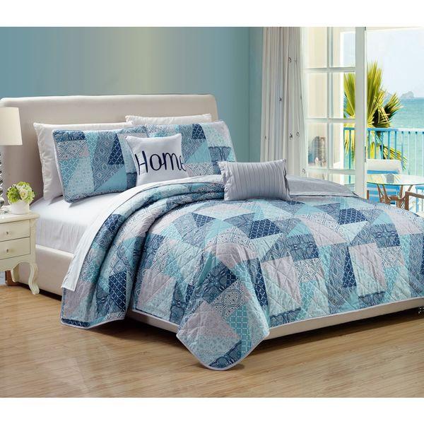 RT Designers Collection Villa 5-Piece Quilt Set