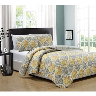 RT Designers Collection Mystique 3-Piece Reversible Quilt Set