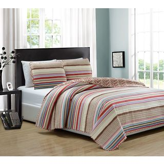 RT Designers Collection Marley 3-piece Reversible Quilt Set