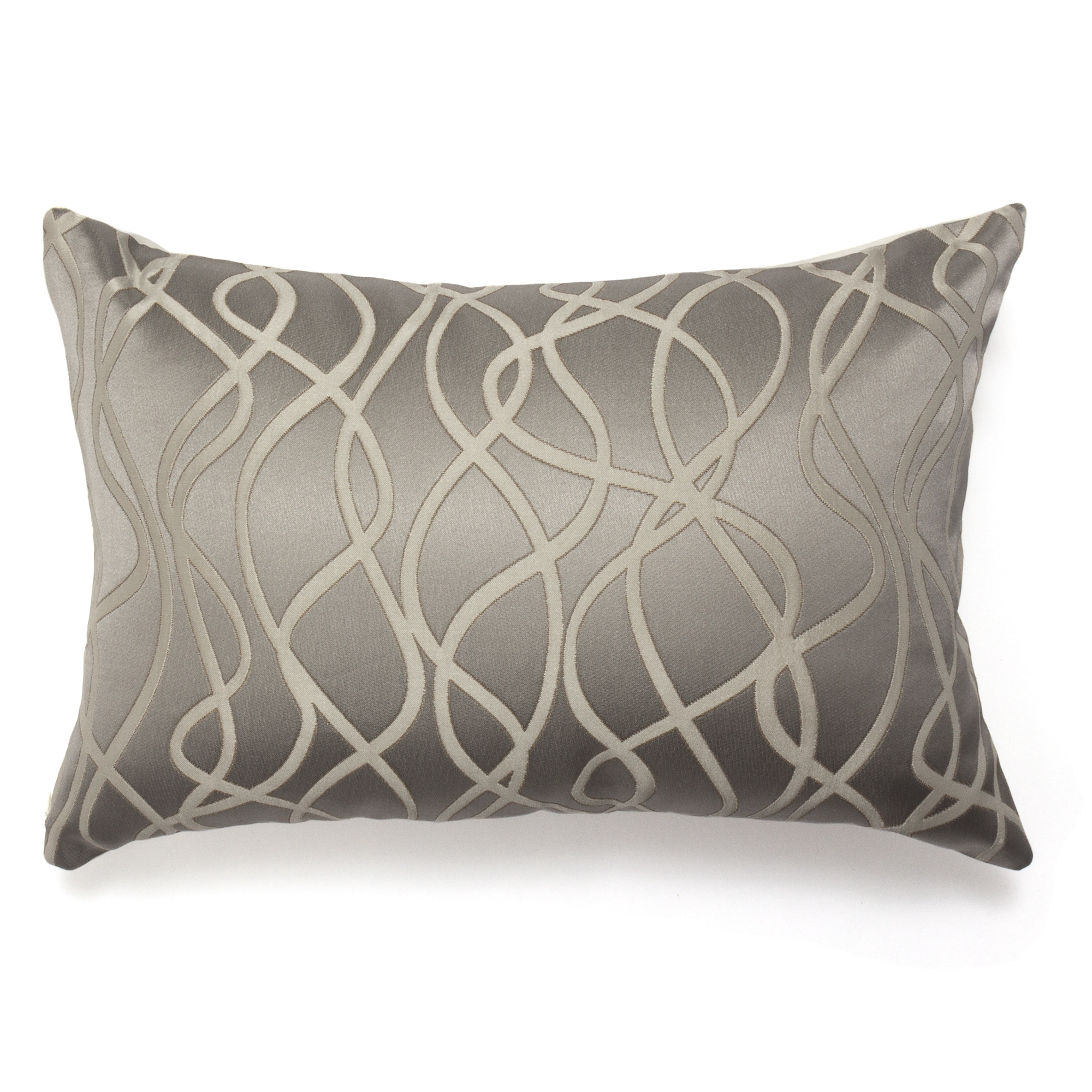 Bales Silver Decorative Bolster (Decorative Bolster), Gre...