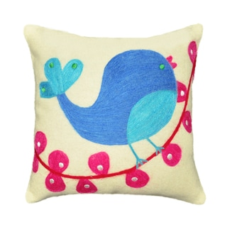 Blue Bird Decorative Throw Pillow