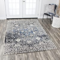 Rizzy Home Panache Taupe Motif Area Rug - 5'3 x 7'6