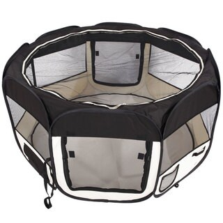 "45"" Portable Foldable 8-Panel Pet Playpen"