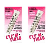 Hard Candy Eye'm Tired Lightweight 0.59-ounce Depuffing Eye Serum (Pack of 2)