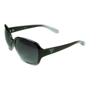 Guess Fashion Womens GU0221 PUR-35 Furple Fade Frame w/ Gradient Smoke Lens Sunglasses