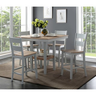 Superb Bernards York Counter 5 Piece Dining Set