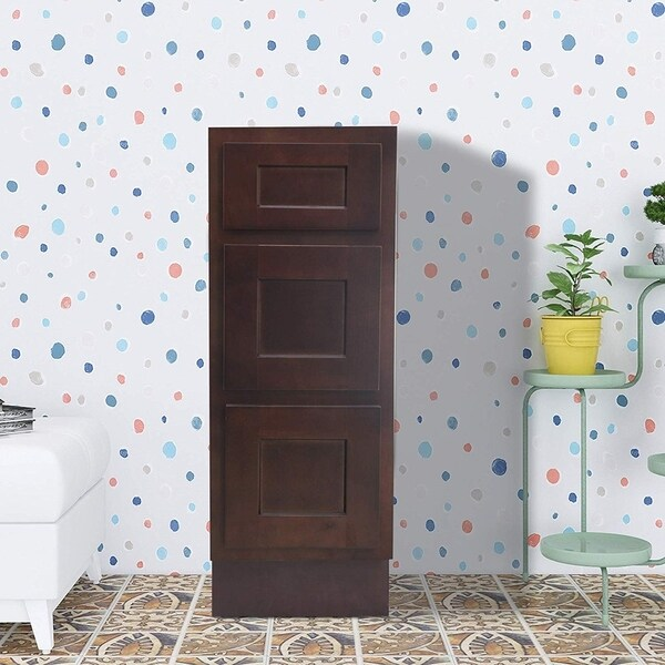 Vanity Art 15 Inch Bathroom Vanity Cabinet