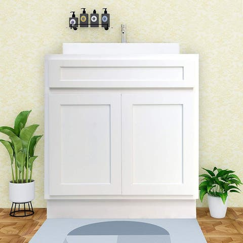 Vanity Art 24 Inch Single Sink Bathroom Cabinet