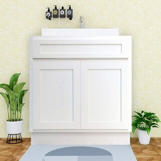 Vanity Art 24 Inch Single Sink Bathroom Vanity Cabinet (3 options available)