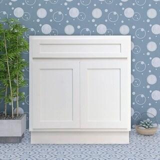 Lovely Vanity Art 33 Inch Single Sink Bathroom Vanity Cabinet