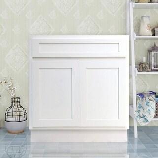 Vanity Art 30 Inch Single Sink Bathroom Vanity Cabinet