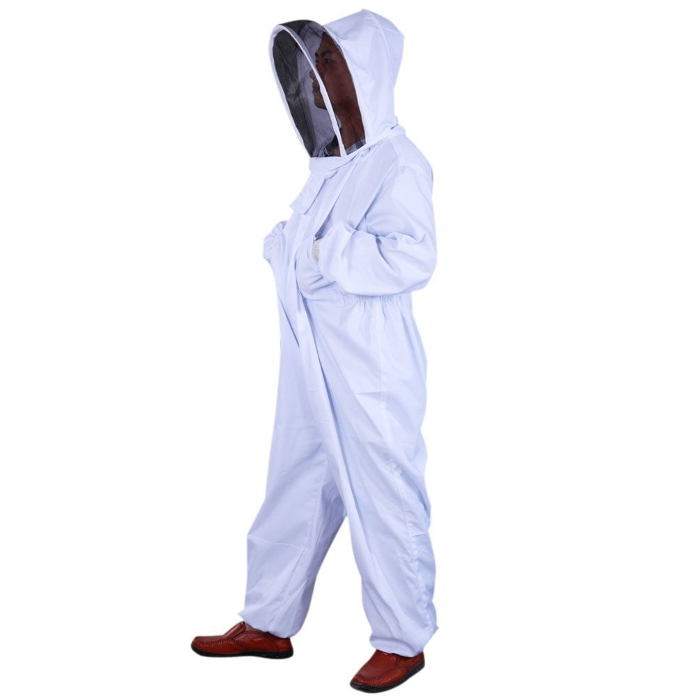 Thickened Cotton Professional Beekeeping Coverall Suit Pe...