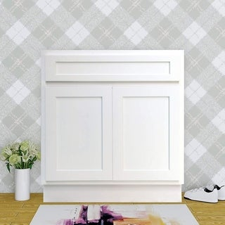 Vanity Art 39 Inch Single Sink Bathroom Vanity Cabinet (3 options available)