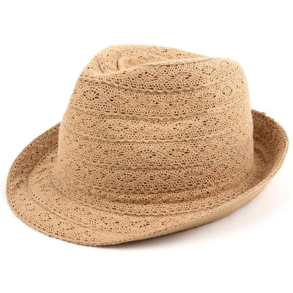 Pop Fashionwear Fashion Lace Fedora Hat. Opens flyout.