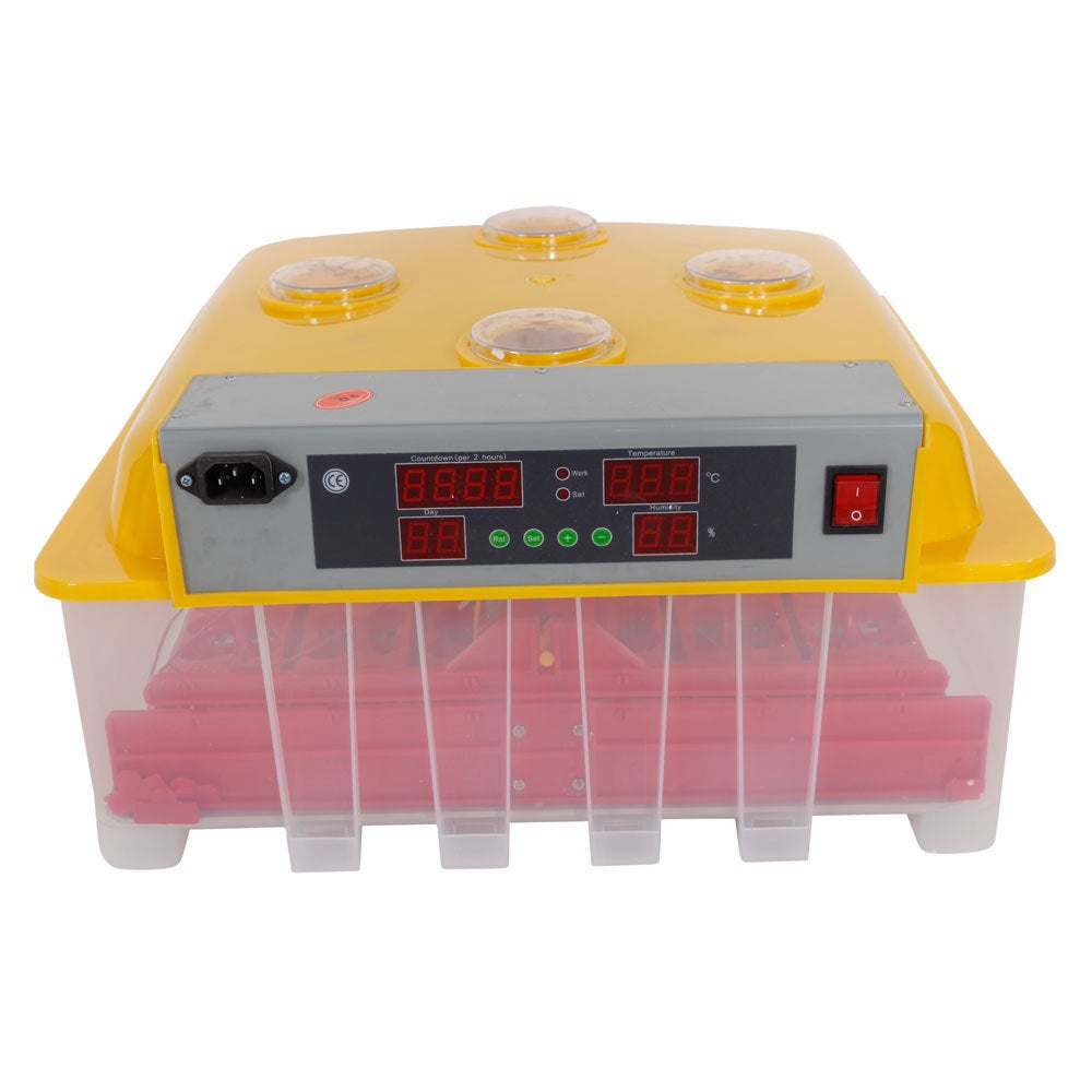 60-Egg Practical Peep Hole Fully Automatic Poultry Incuba...
