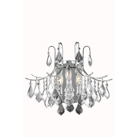 Living District Amelia Collection Chrome Wall Sconce