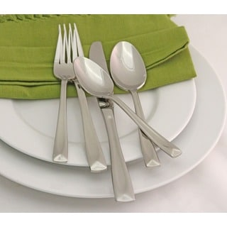 Oneida Lincoln Stainless Steel 65-Piece Flatware Set -Service for 12