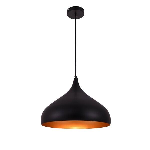 Living District Circa Collection Black Pendant