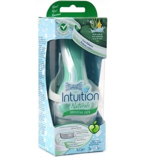Wilkinson Schick Intuition Sensitive Care Razor with 1 Refill Cartridge and Shower Hanger