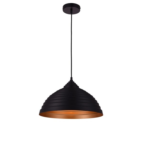 Living District Circa Collection Black Pendant