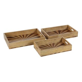 Classic Serving Tray Set -Set of 3