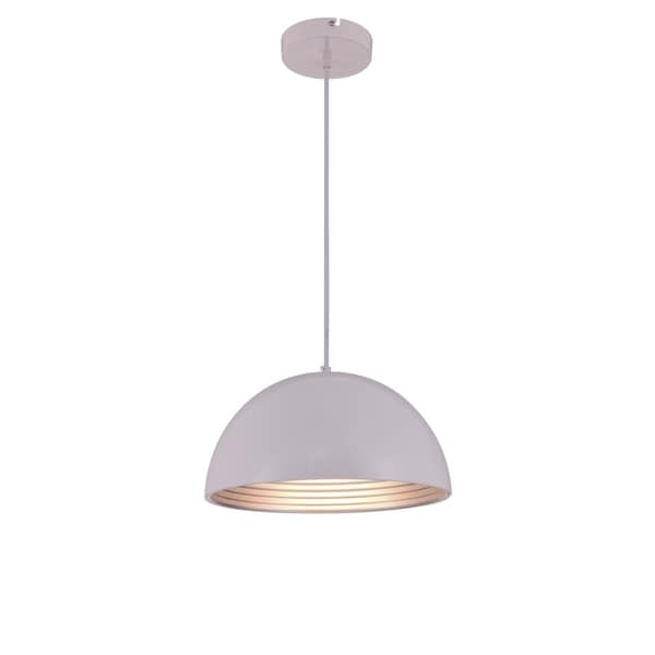 Living District Circa Collection White Pendant