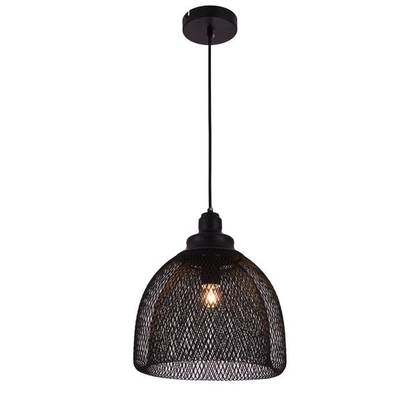 Living District Warren Collection Black Pendant