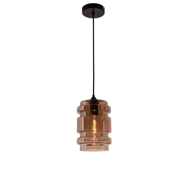 Living District Collins Collection Amber Pendant