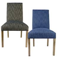 978bdd39bb46 Shop BELLA Lucky Phantom Natural Wooden Legs Upholstered Dining ...
