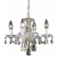 Living District Azalea Collection Gold 4-Light Pendant