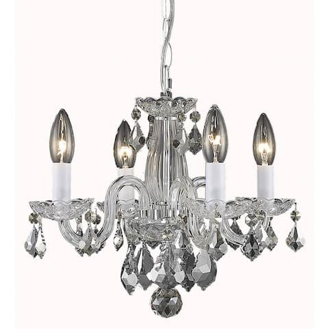 Living District Azalea Collection Chrome 4-Light Pendant