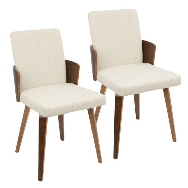Awesome Shop Carmella Mid Century Modern Dining Chair Set Of 2 N Ncnpc Chair Design For Home Ncnpcorg