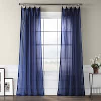 Blue Sheer Curtains Online At