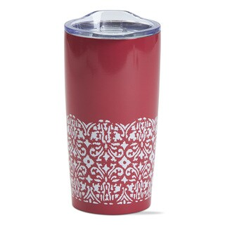TAG Ikat Double Wall Stainless Steel Travel Mug