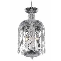 Living District Azalea Collection Chrome 3-Light Pendant