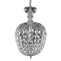 Living District Azalea Collection Chrome Pendant