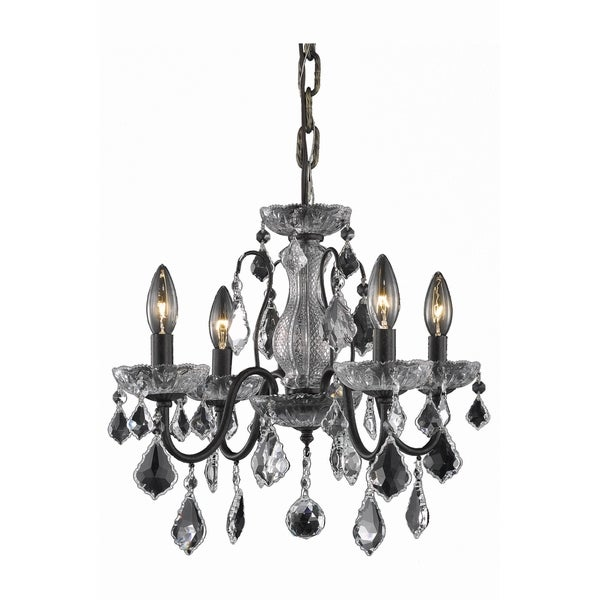 Living District Calista Collection Dark Bronze 4-Light Pendant