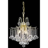 Living District Amelia Collection Gold 6-Light Pendant