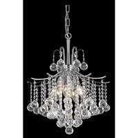 Living District Amelia Collection Chrome 6-Light Pendant