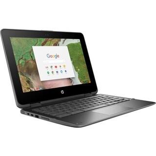 HP Chromebook x360 11 G1 EE 2-in-1 with Intel Celeron N3350, 4GB 32GB eMMC