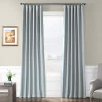 Exclusive Fabrics Gulf Blue Bellino Blackout Curtain Panel