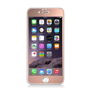 Insten Pink Clear Tempered Glass LCD Screen Protector Film Cover For Apple iPhone 6/ 6s