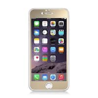 Insten Gold Clear Tempered Glass LCD Screen Protector Film Cover For Apple iPhone 6/ 6s