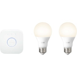 Deals on Philips White Ambiance A19 Starter Kit 455287