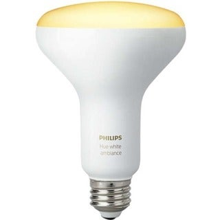 Philips Hue 60W Equivalent Soft White Ambiance BR30 LED Light Bulb