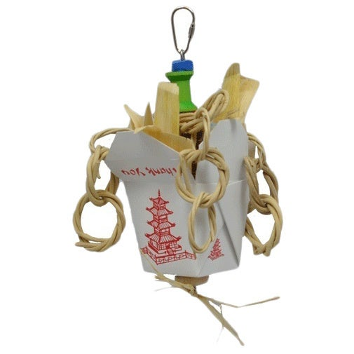 Chinese Take Out Junior Bird Toy (Toy), Multi